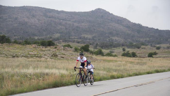 11. Take a family bike ride and enjoy the cool, crisp air.