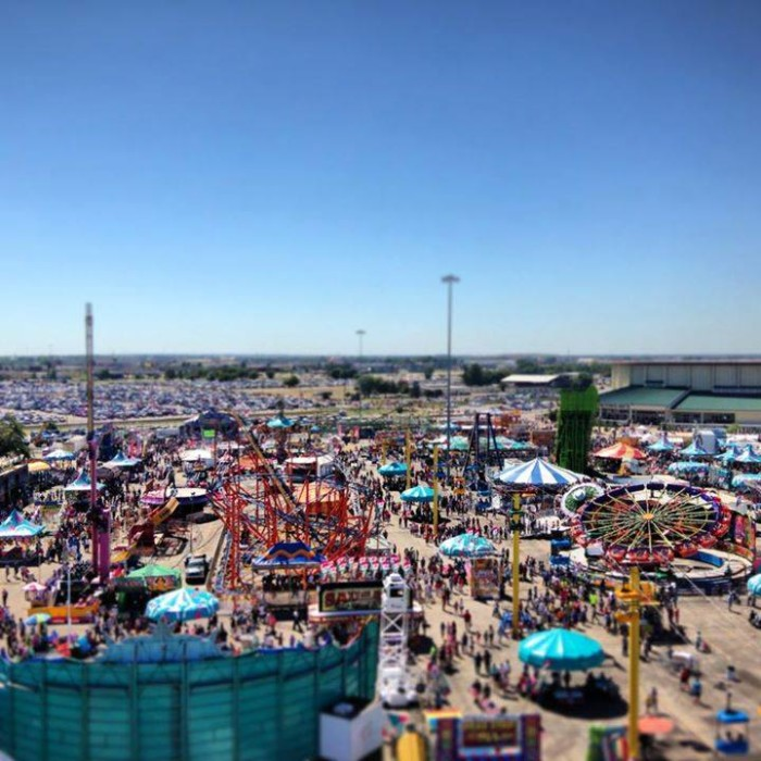 6. Attend the State Fair...multiple times.