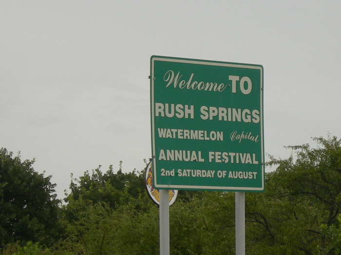3. Rush Springs: Watermelon Capital of the World