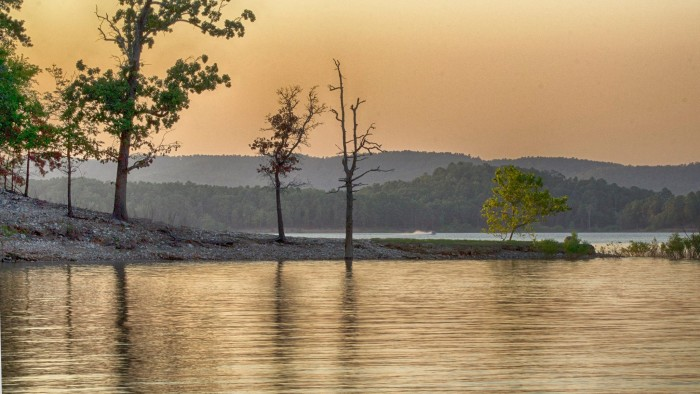 1. Donna Barnes took this great shot of Broken Bow Lake.