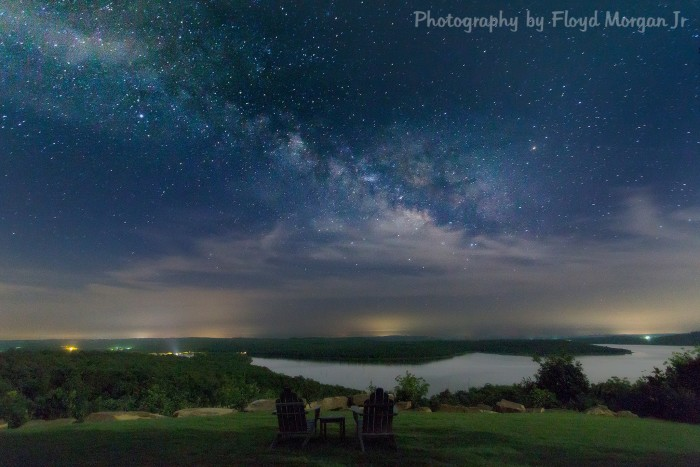 8. A beautiful night over Lake Eufaula from Carlton Landing submitted by Floyd Morgan Jr.