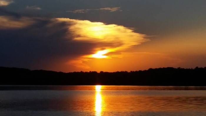 11. It never gets old looking at a sunset. This one at Okemah Lake was taken on August 2, 2015.