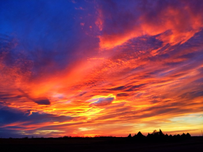 2. The colors of this sunset leave you speechless.