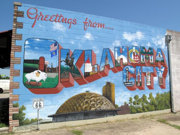 7. Oklahoma City