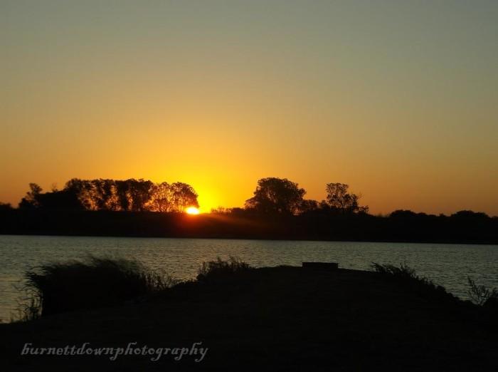 17. An unforgettable sunrise on Lake Taylor taken on 10-20-15.
