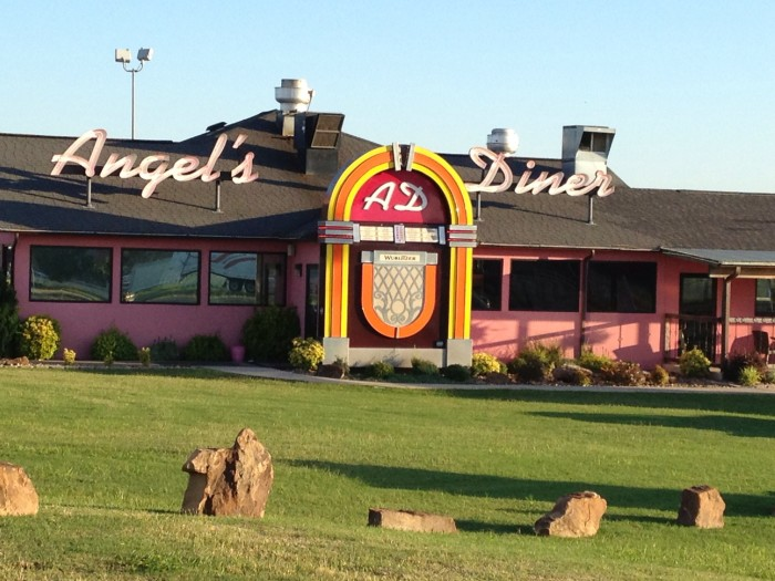 1. Angel's Diner: 1400 S. George Nigh Expy McAlester, OK 74501