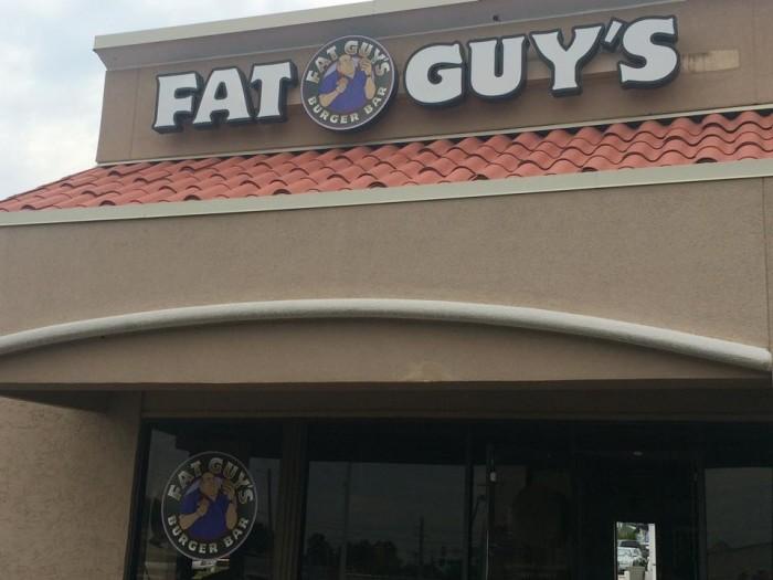 7. Fat Guys Burger & Bar: Tulsa
