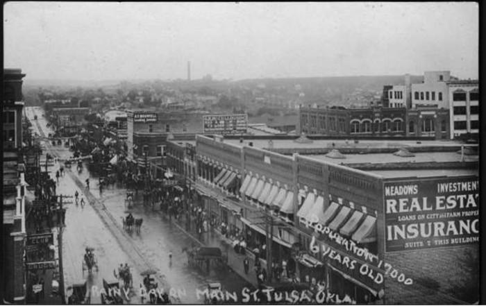 Oklahoma 100 Years Ago