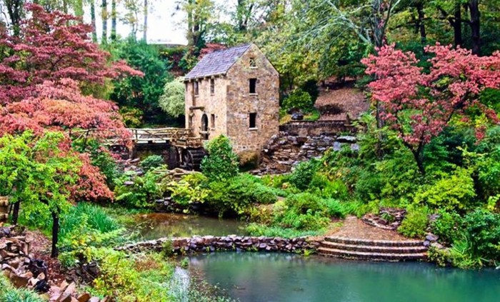 10. Old Mill by Donna Emmett