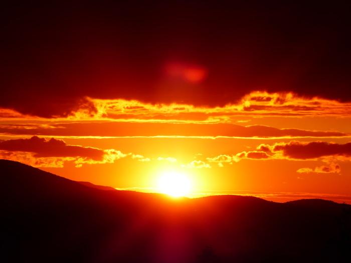 10.  Goodbye Sun!