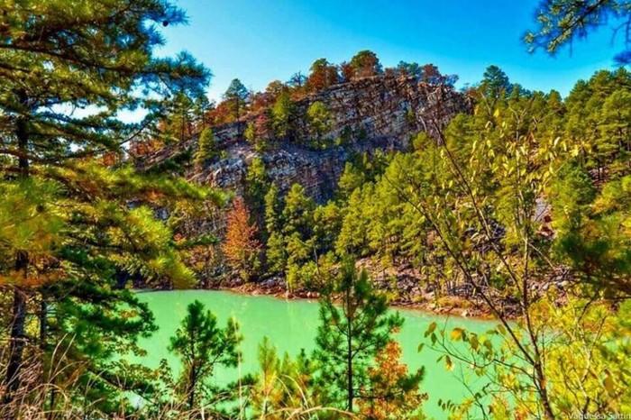 1. Pinnacle Mountain by Vaquessa Adams Sartin