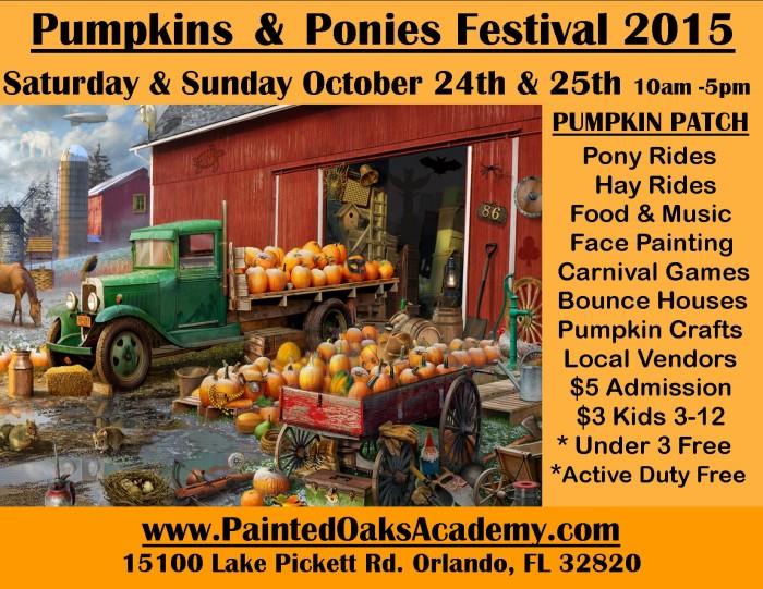 4. Painted Oaks Academy's Pumpkin & Ponies Festival 2015, Orlando