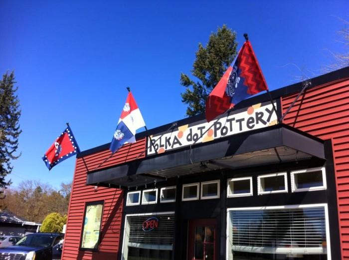 1. Polka Dot Pottery - North Spokane, Spokane Valley, downtown Spokane, and Kennewick