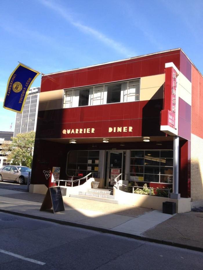10 .Quarrier Diner in Charleston