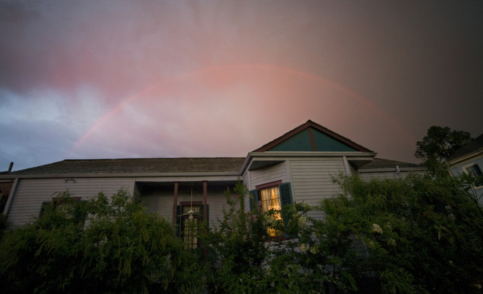 10) Rainbow Halo in New Orleans