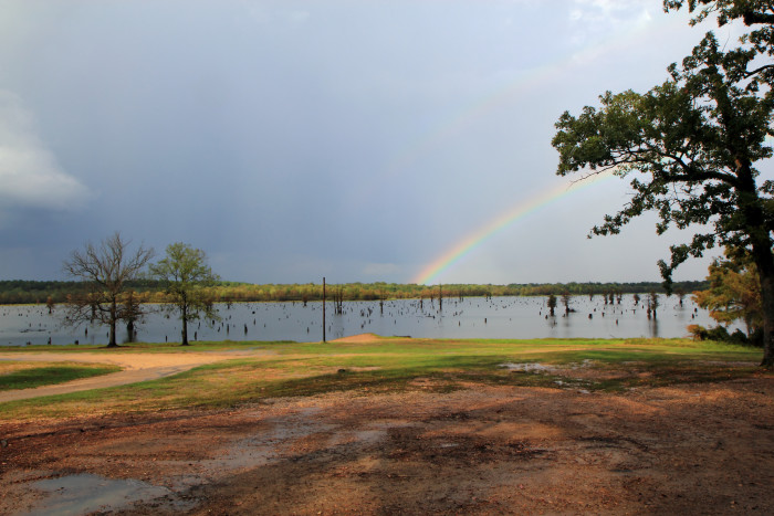 2) Rainbow Over Finch Lake