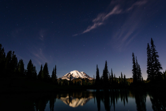 2. Goodnight, Mount Rainier.