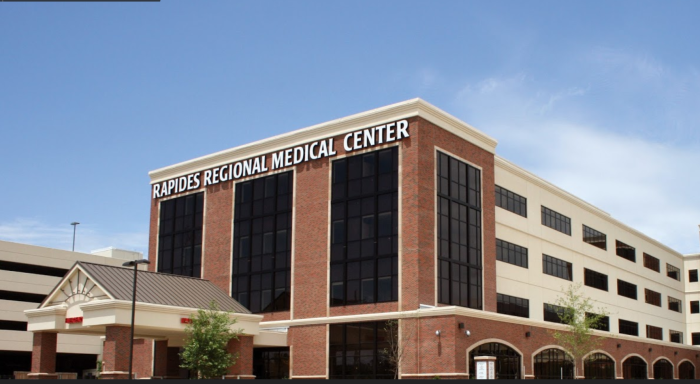 3) Rapides Regional Medical Center, Alexandria