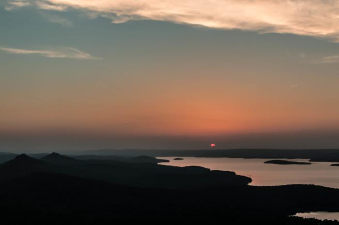 16. Pinnacle Mountain Sunset by Sam Files