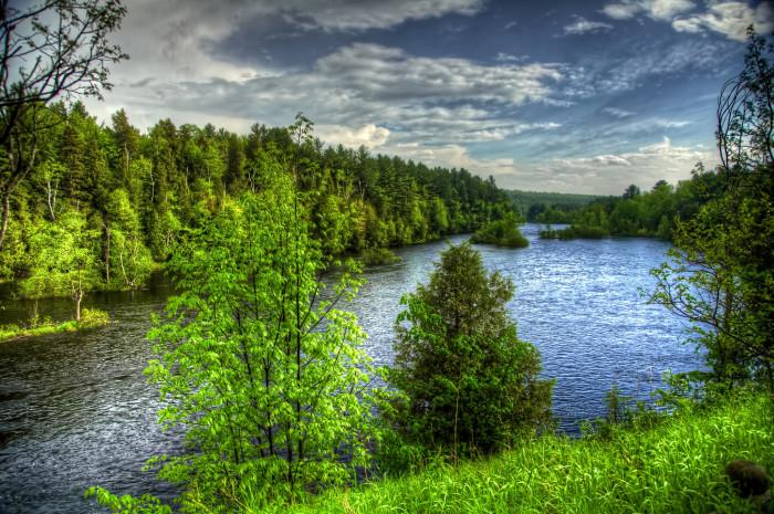 12. Saranac River is definitely worth a visit.