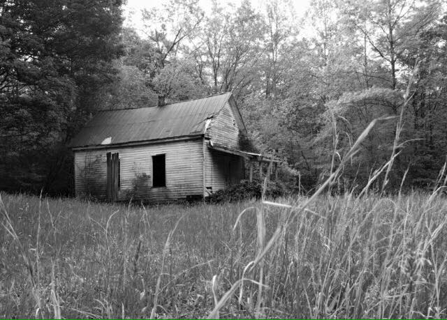 2. Donna Nichols Fitzwater got this one of a one-room schoolhouse in Kessler's Cross Lanes.