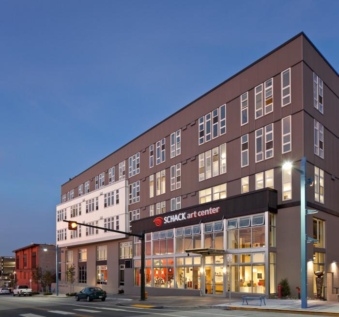 3. Schack Art Center, Everett