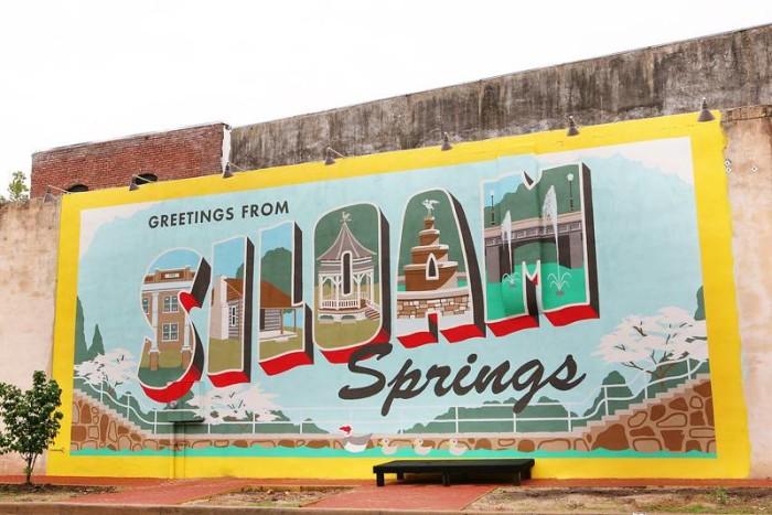 8. Siloam Springs