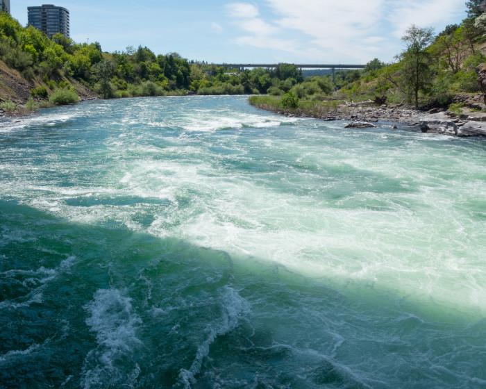 2. Spokane River