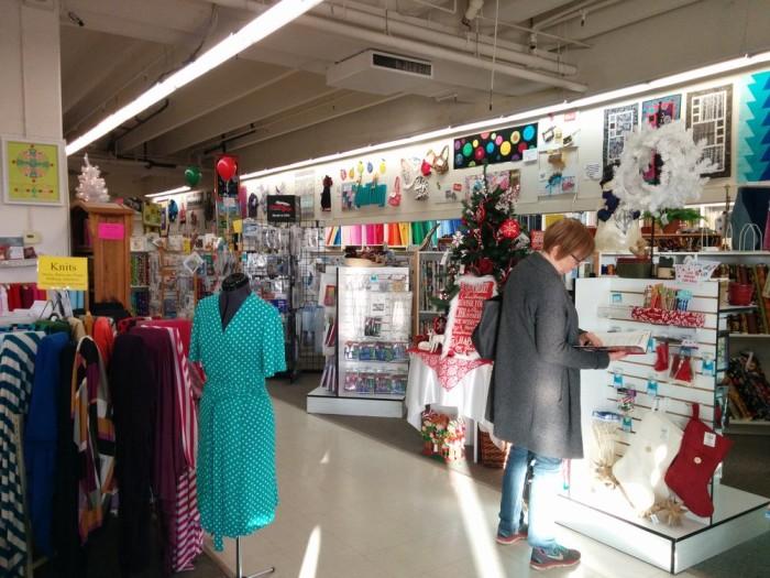 6. Pacific Fabrics & Crafts - Bremerton, Bellevue, Northgate and SoDo