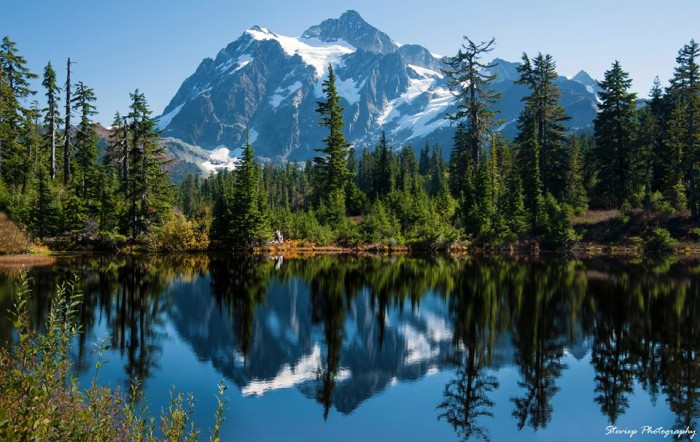 12.  A striking shot of Mount Shuksan by Steve Phelps.