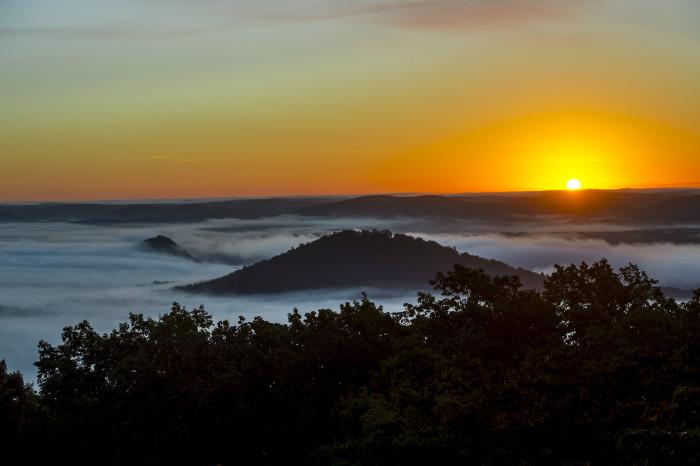 13. Morrow Mountain Sunrise