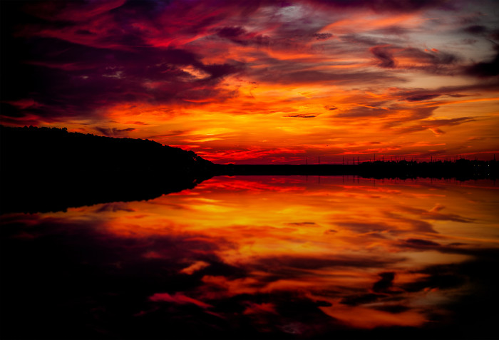 13. And you can catch breathtaking sunsets anywhere in the state.
