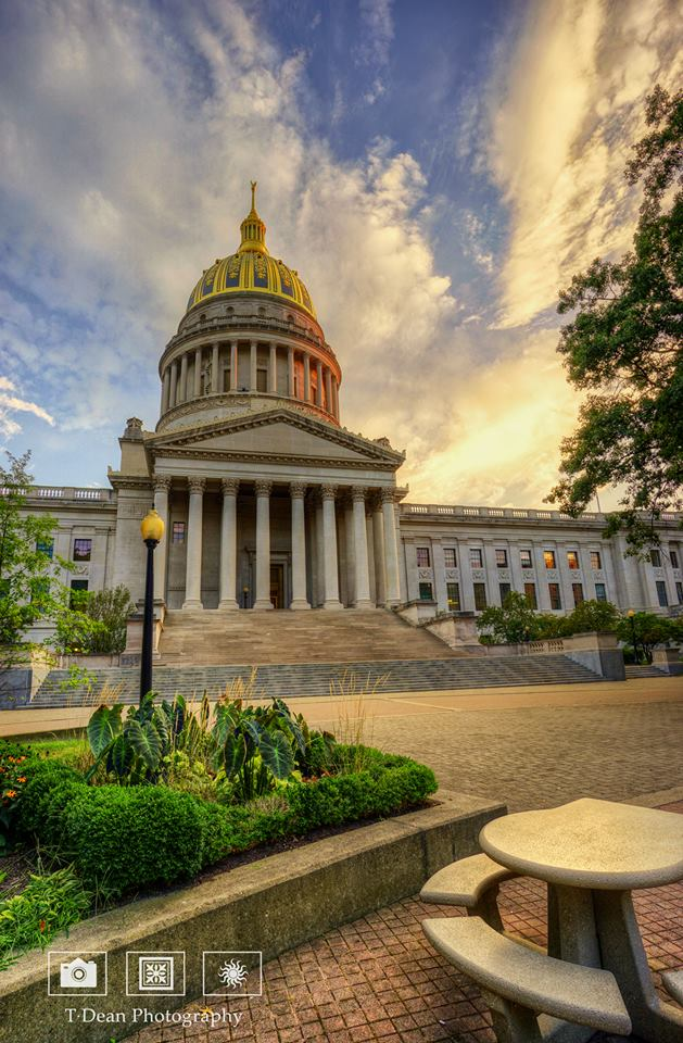 9. TDean Photography got this lovely picture of the state Capitol.