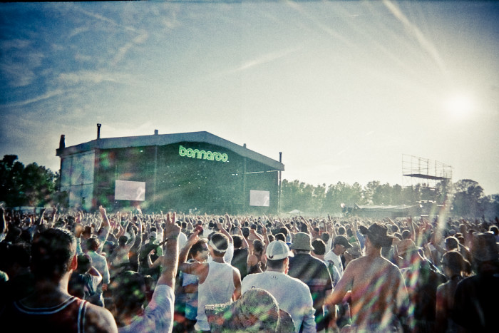 8) Bonnaroo rainbows only happen in good ol' Tennessee.