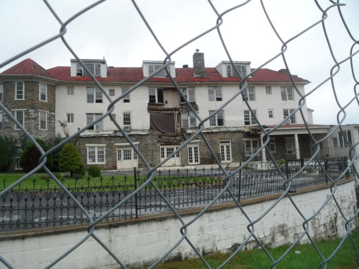 11. The ghost soldiers of Hilltop Hotel