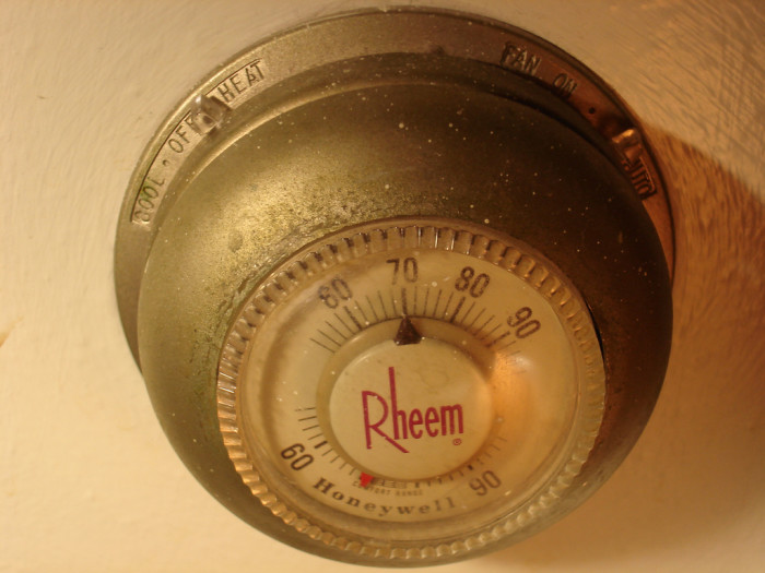 """8. We change the thermostat from """"heat"""" to """"cool"""" and back again in a 24-hour period."""