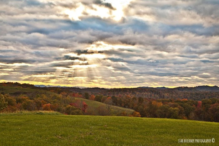 2. This shot of Canvas, W.Va. (Nicholas County) submitted by a reader.