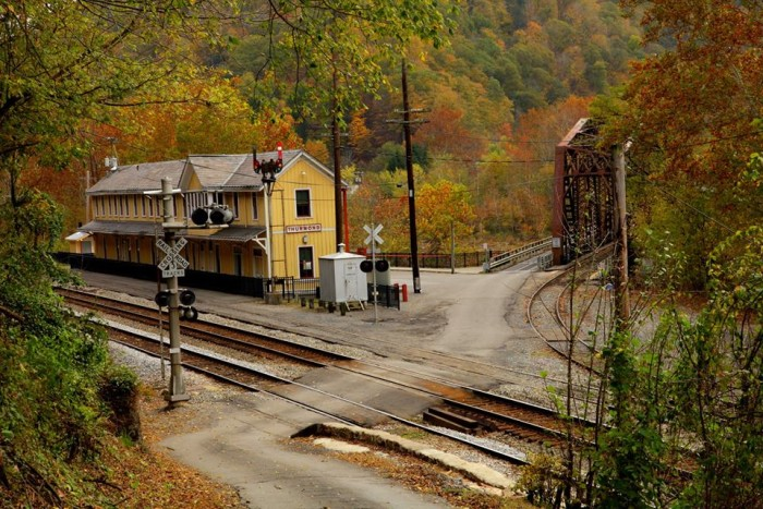17. This is a great shot of the ghost town of Thurmond.
