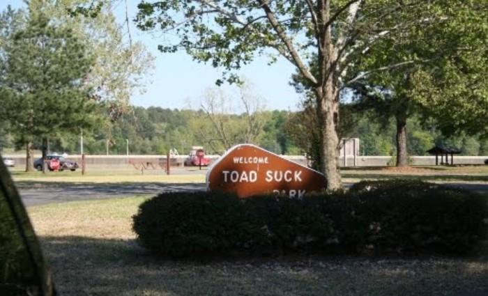 3. Toad Suck