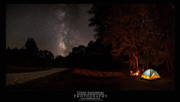 22. Camping by Todd Sadowski