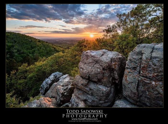 2. Balanced Rock Sunset by Todd Sadowski