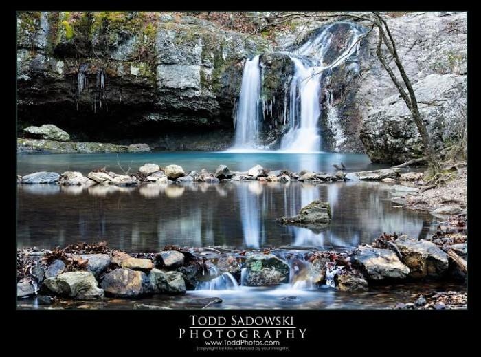 20. Rocky Waterfall by Todd Sadowski