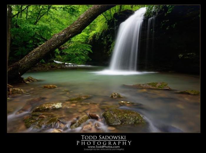 8. Waterfall by Todd Sadowski