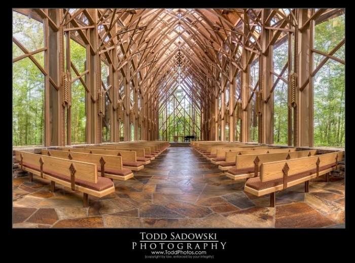 17. Garvan Woodland Gardens Chapel by Todd Sadowski