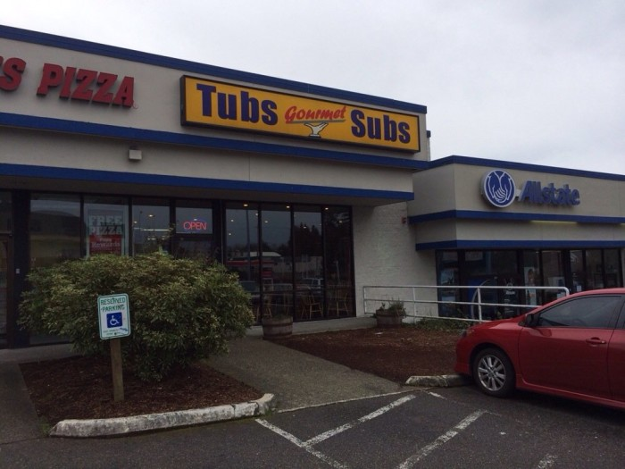 14. Tubs Subs - Lake City, Lynnwood