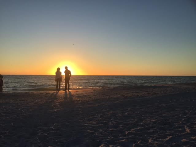 5. Tulin Grant submitted this romantic shot of Holmes Beach.