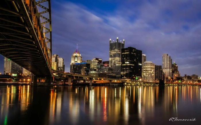 10. The glittering City of Pittsburgh.
