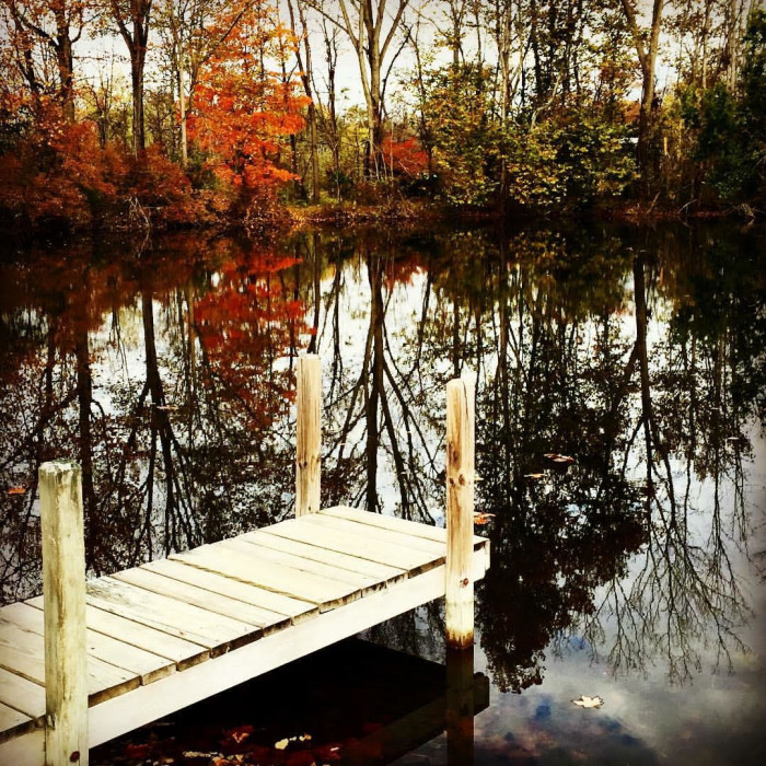 5. Autumn at the dock in Quincy, OH