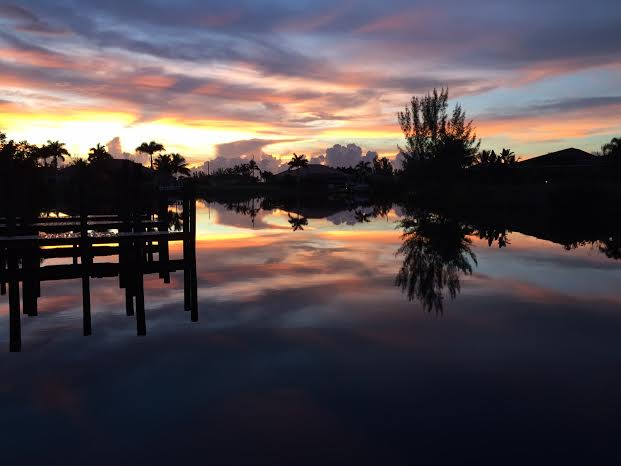 5. Thank you, Sally Bobsein, for sending us this gorgeous shot of Cape Coral