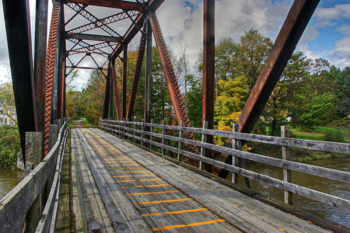 17.  Vermont railroad.